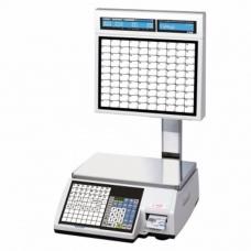 Весы с печатью этикеток CAS CL5000J-CS