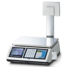 Весы с печатью этикеток CAS CT100 Plus-15P
