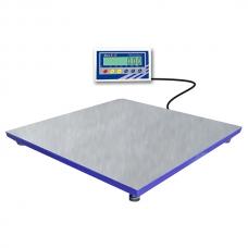 Платформенные весы 1000 кг (сертификат) BXN‐1000D1.4‐3 (1200x1200) нерж.
