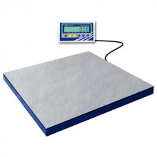 Платформенные весы 1000 кг (сертификат) BXN‐1000D1.4‐3 (1200x1200) нерж., в приямке
