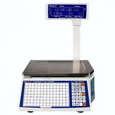 Весы с печатью этикеток 6/15 кг (сертификат) AlexPrint-1