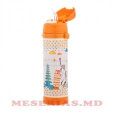 Детский термос с силиконовой трубочкой MR-1640-35