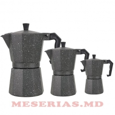 Гейзерная кофеварка MR-1666-3G