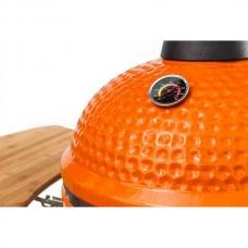 """Grătar din ceramică BergHOFF pe suport cu """"aripi"""" din lemn 2415405"""