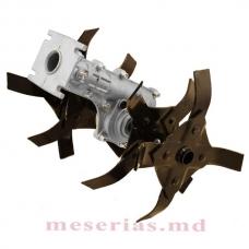 Насадка-культиватор для триммера, 9 шлицев, штанга 26-28 мм