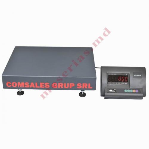 Весы торговые напольные Comsales Grup 150 кг, Сертификат