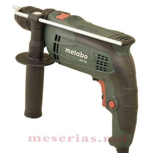 Дрель ударная Metabo SBE 650 зажимной патрон