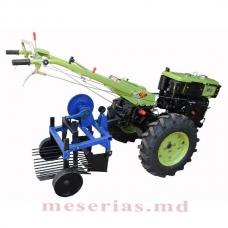 Mașină de scos cartofi, vibratoare, pentru motocultivatore