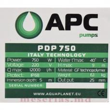 Насос дренажный APC PDP 750