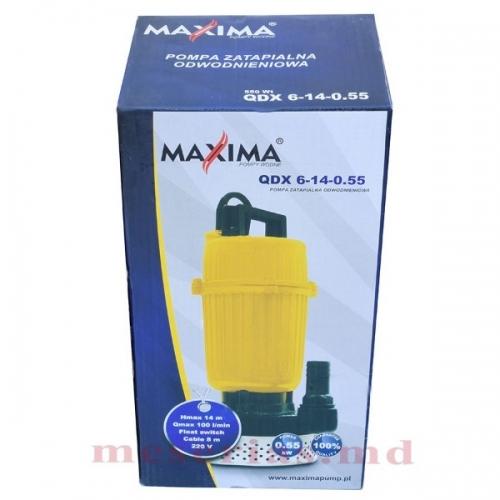 Дренажный насос MAXIMA QDX 6-14-0,55