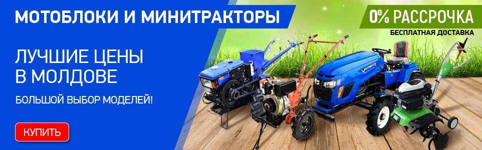 Мотоблоки в Молдове