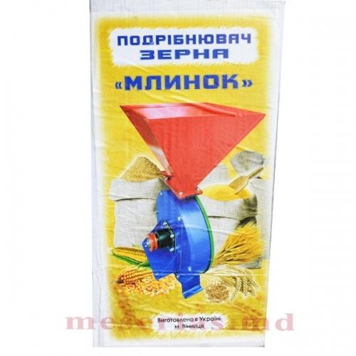 Зернодробилка под двигатель, МЛИНОК